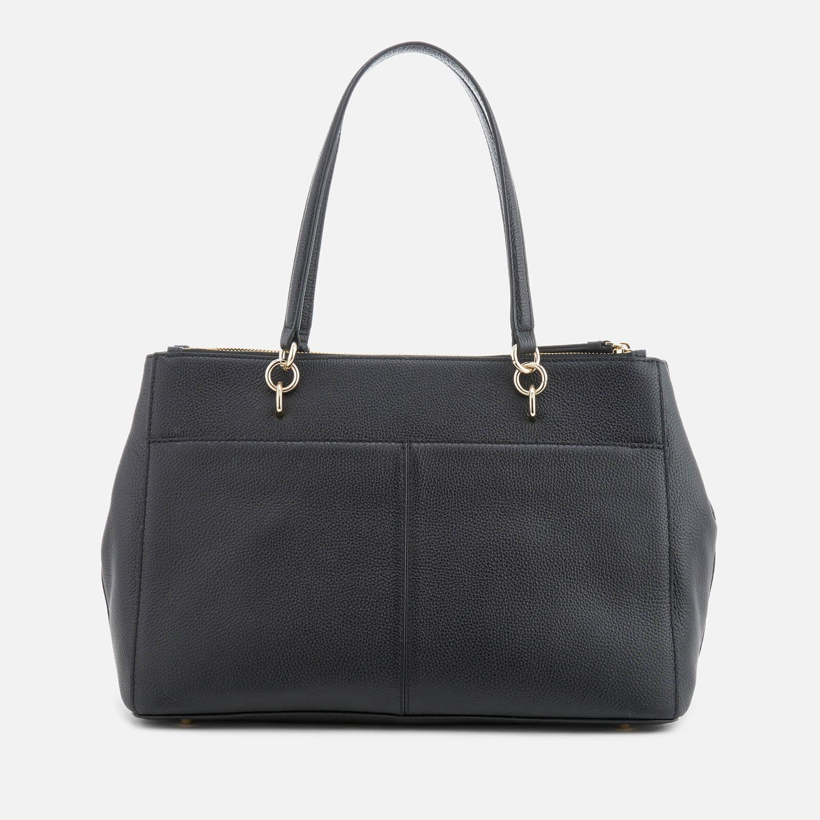 3ecb58deff DKNY Chelsea Pebbled Leather Large Shopper Bag in Black - Lyst