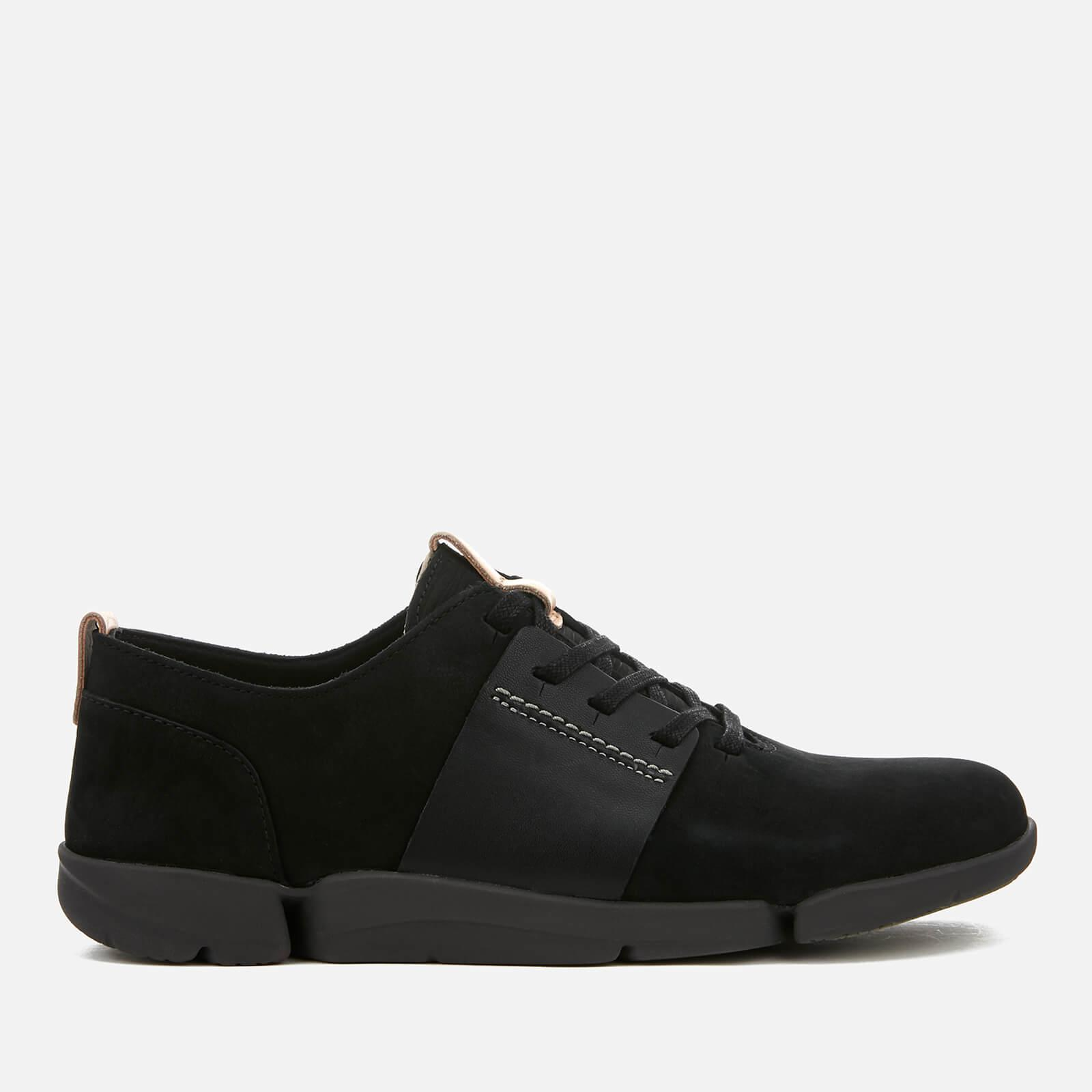 cheap low price fee shipping cheapest CLARKS Tri Caitlin Leather Trainers 100% original for sale free shipping low cost footlocker finishline for sale pzKYxdIV8