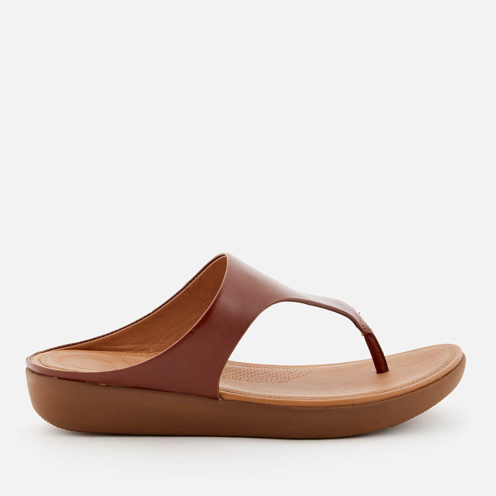 c63327f0f193e Fitflop Banda Ii Leather Toe Post Sandals in Brown - Lyst