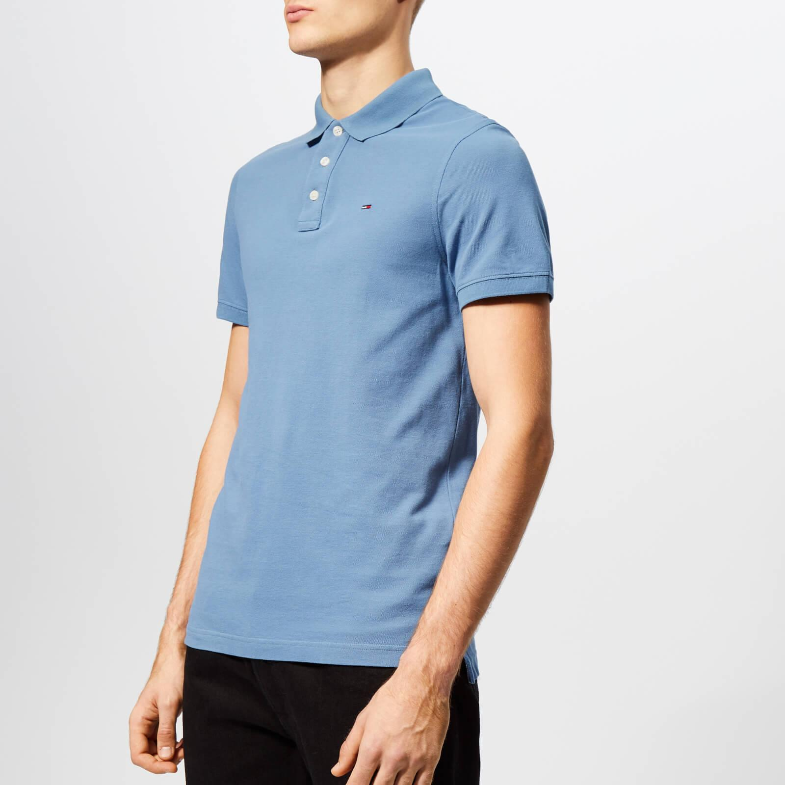 Lyst - Tommy Hilfiger Essential Polo Shirt in Blue for Men 273bd5fbf0