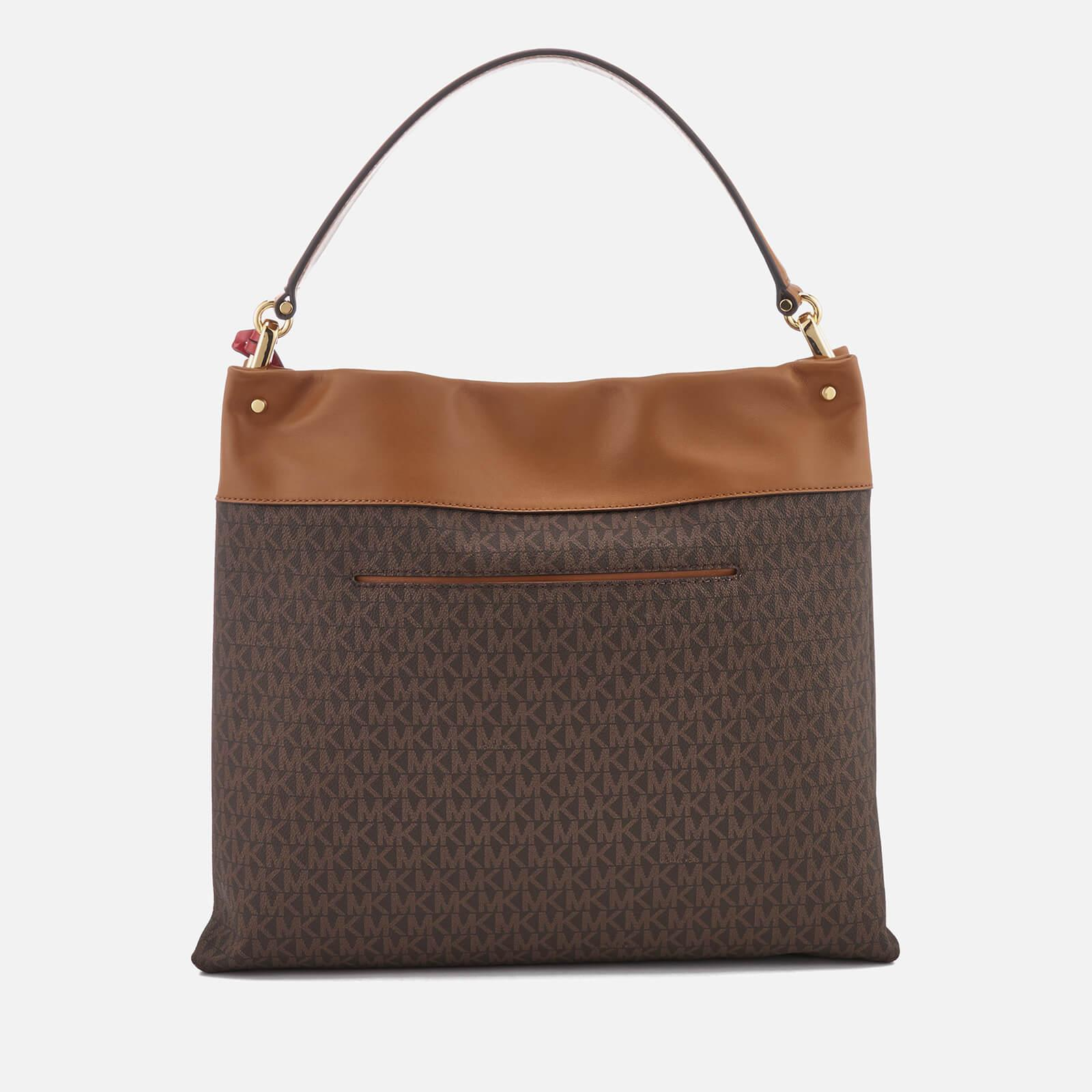 e7532a94369c MICHAEL Michael Kors Lex Large Hobo Bag in Brown - Lyst