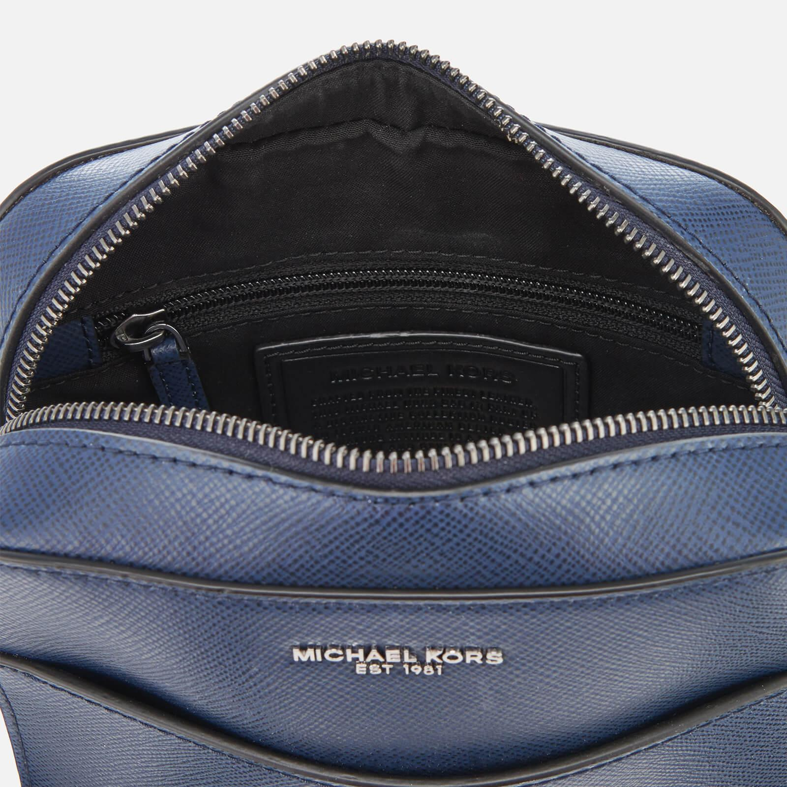 564452861b9be Michael Kors - Blue Harrison Flight Bag for Men - Lyst. View fullscreen