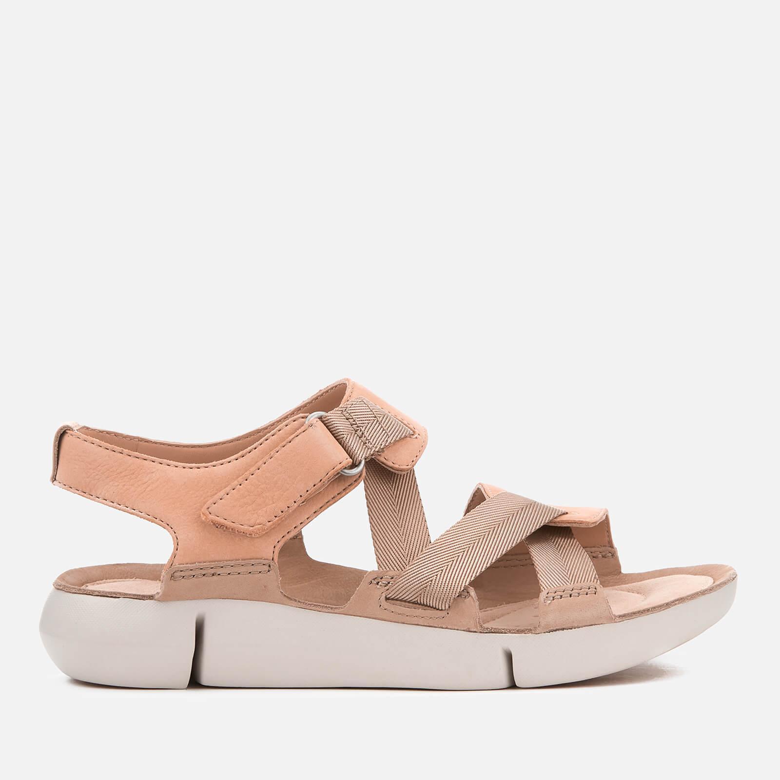 7485cfbc54c Lyst - Clarks Tri Clover Strappy Sport Sandals in Pink