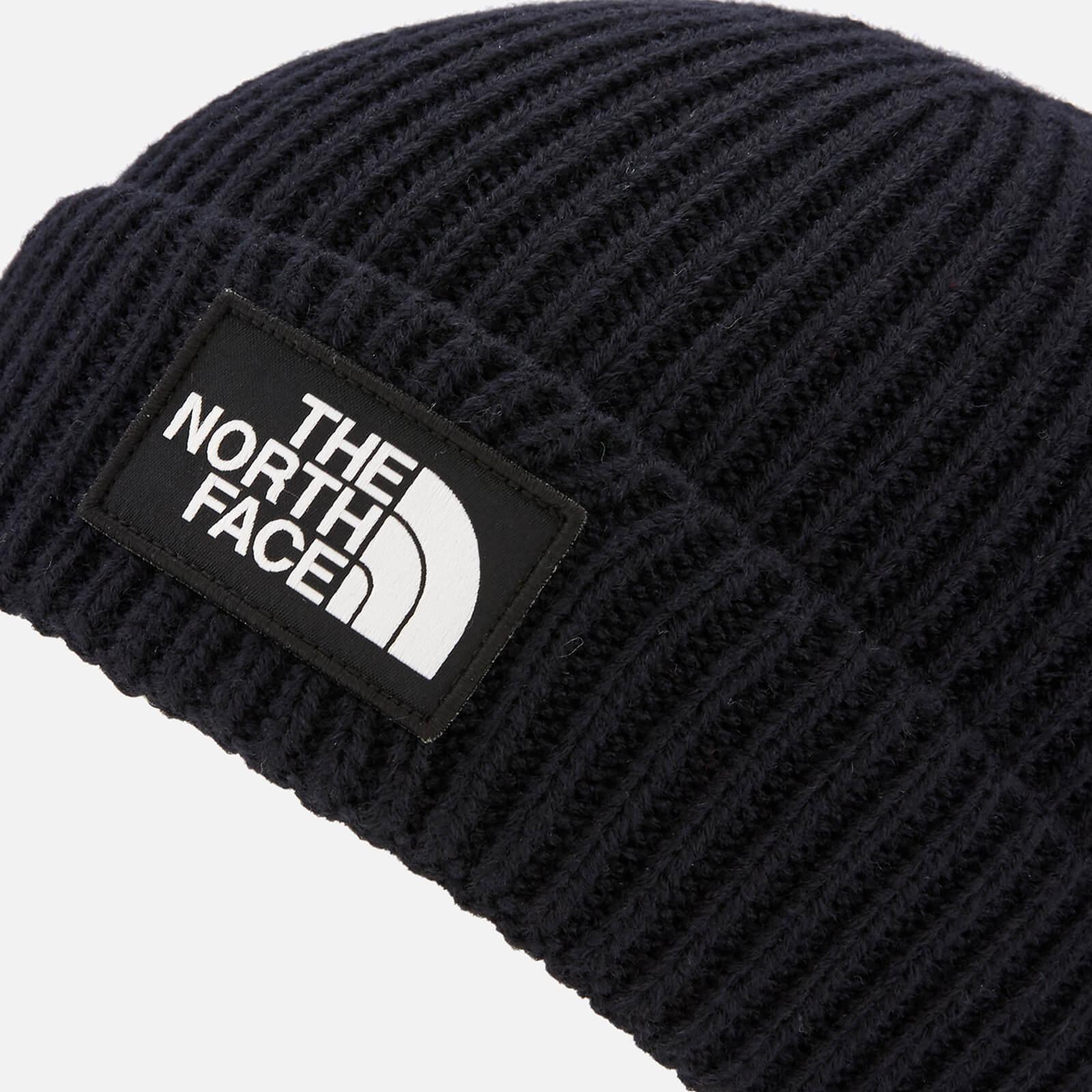 2a54d3cd83b Lyst - The North Face Tnf Logo Box Cuffed Beanie In Black in Black ...