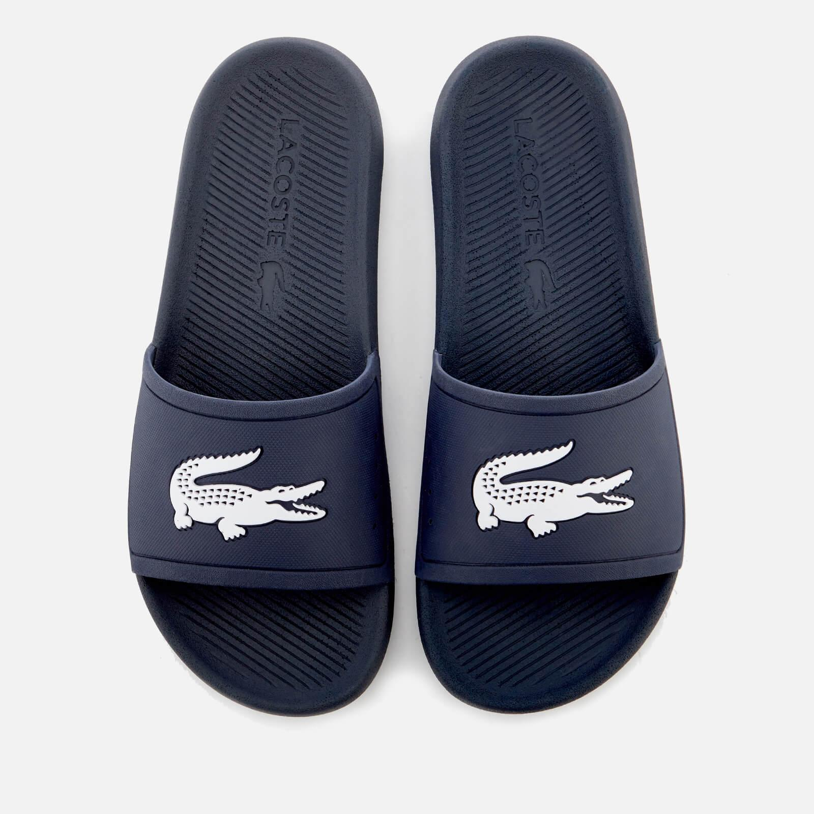 57b2914f68e Lyst - Lacoste Croco Slide 119 1 Sandals in Blue for Men