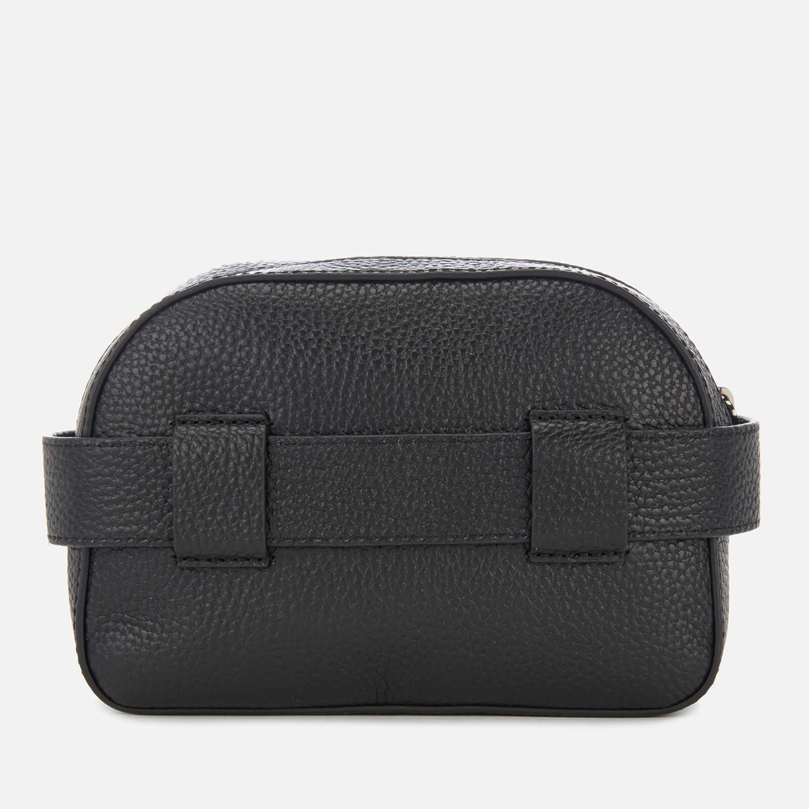 a15e459c1cb06 Ted Baker Madiiee Leather Pom Belt Bag in Black - Lyst