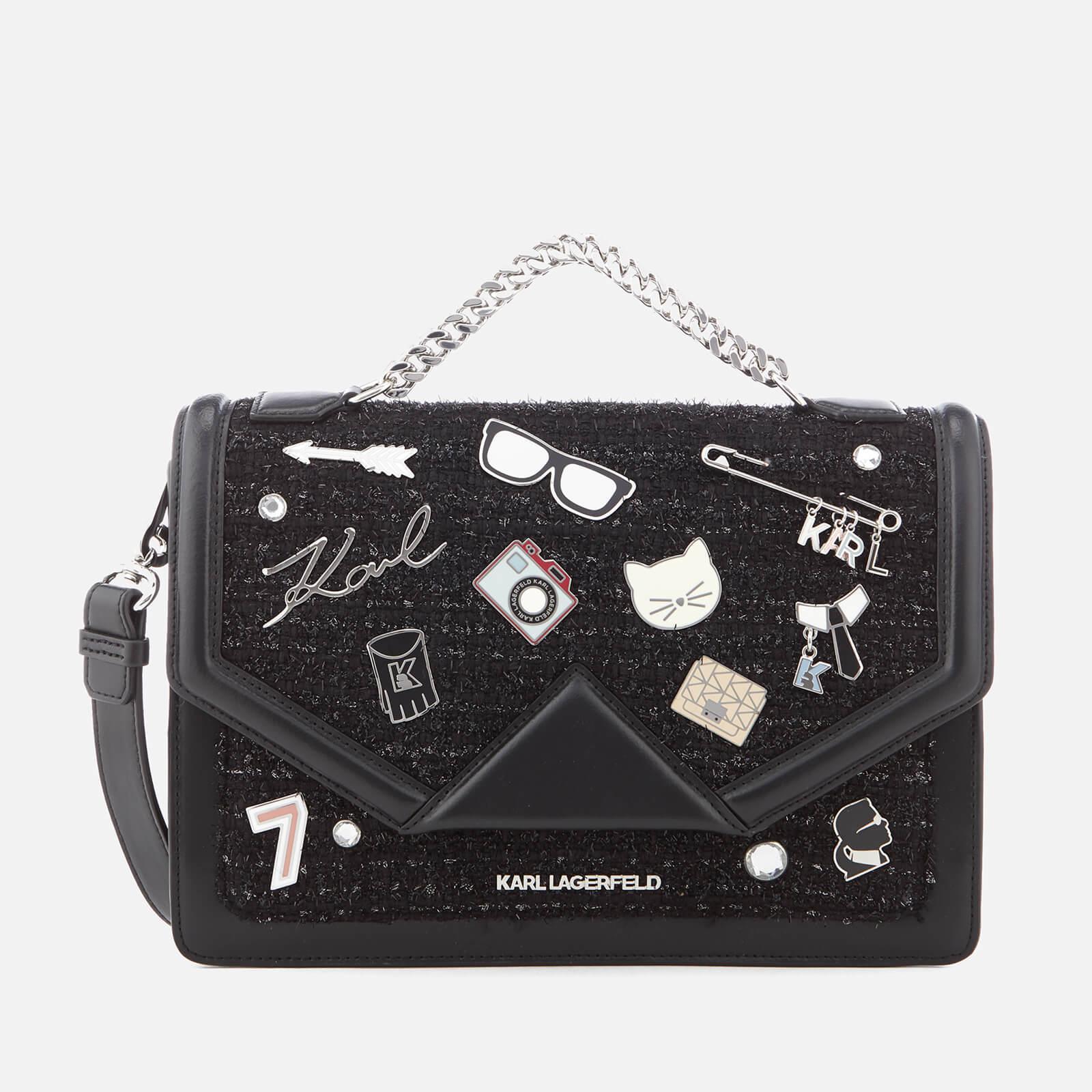 Klassik Pins clutch - Black Karl Lagerfeld I35ZQmiDl