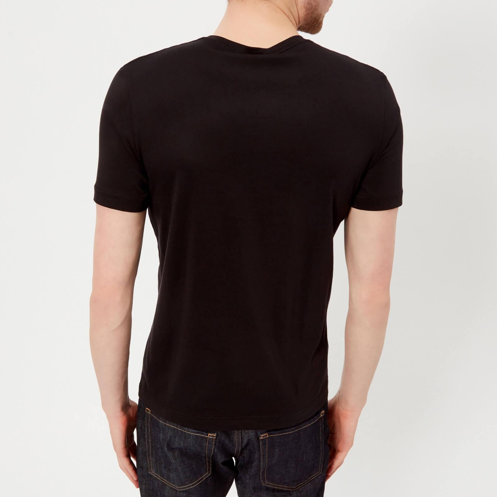 e2eb66be9 BOSS Green Tallone T-shirt in Black for Men - Lyst