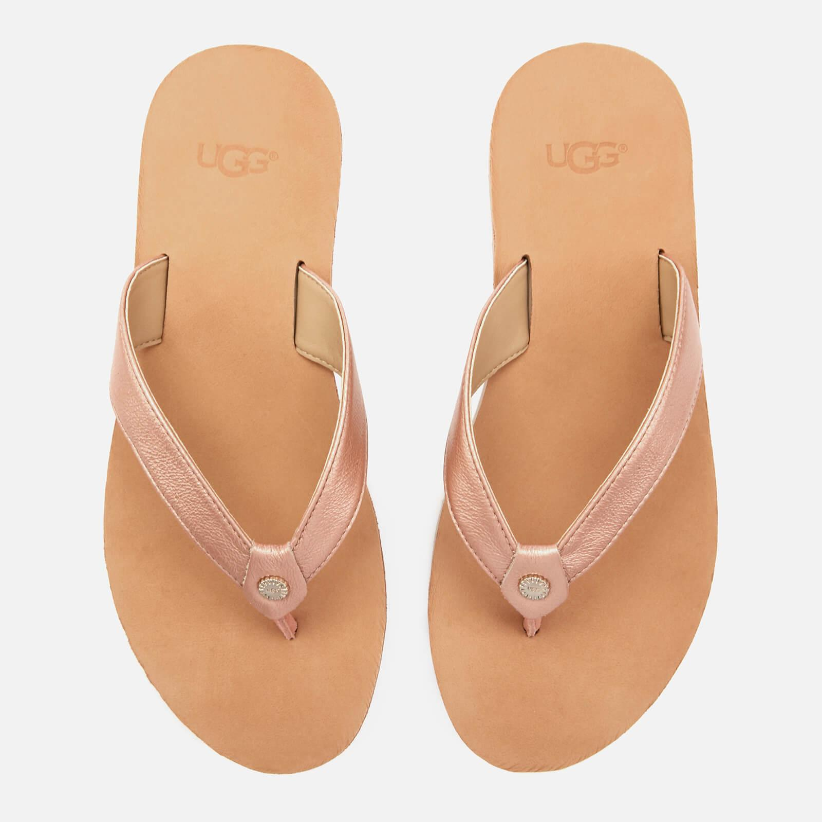 393c101ad24 Women's Pink Tawney Metallic Flip Flops