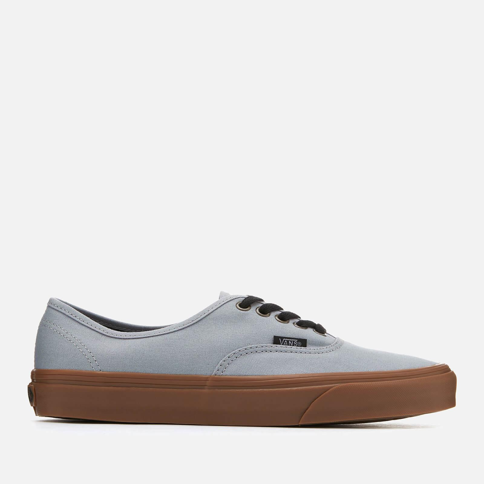 e0f632d1bf9c Lyst - Vans Authentic Gum Sole Trainers in Gray for Men