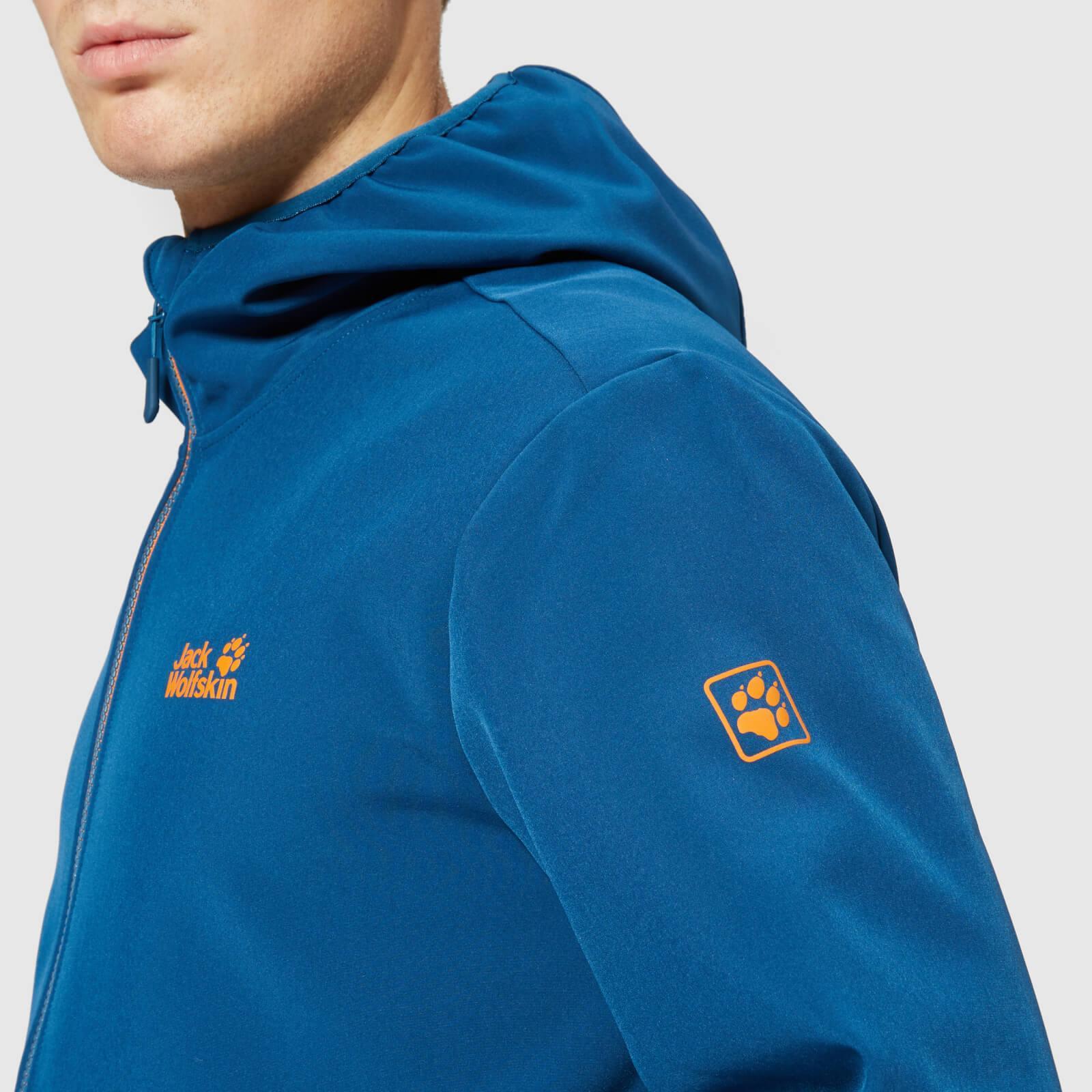 ce689281da ... Jack Wolfskin - Blue Essential Peak Jacket for Men - Lyst. Visit The  Hut. Tap to visit site
