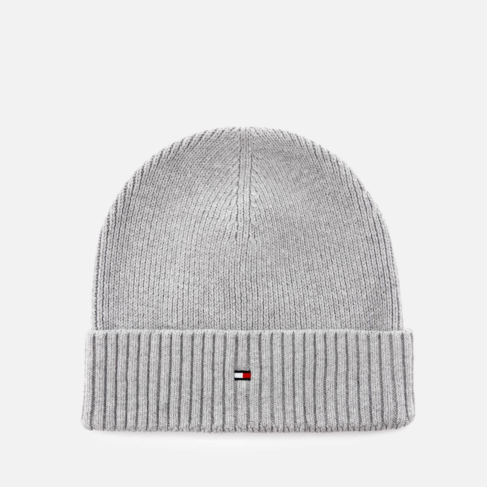 1b12c887 Tommy Hilfiger Pima Cotton Cashmere Beanie in Gray for Men - Lyst