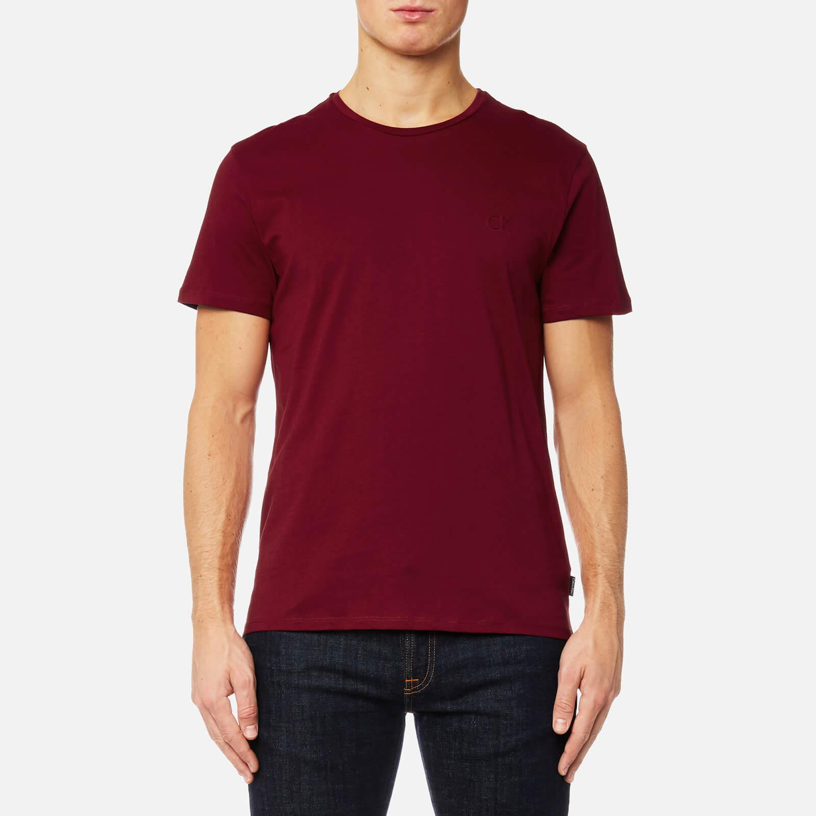 b03407a126adf Lyst - Calvin Klein Jari Embossed T-shirt in Red for Men