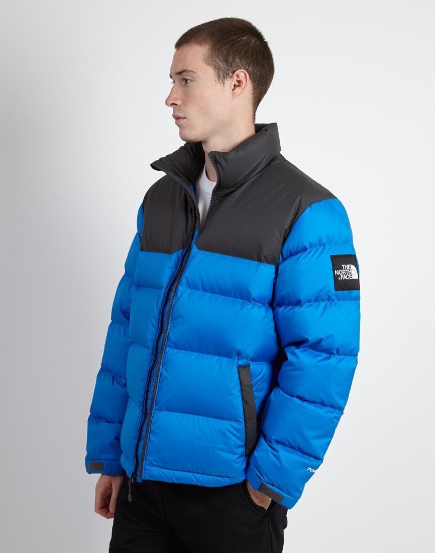 ... usa the north face black label 1992 nuptse jacket blue grey in blue  367e9 2d484 050e4b93c