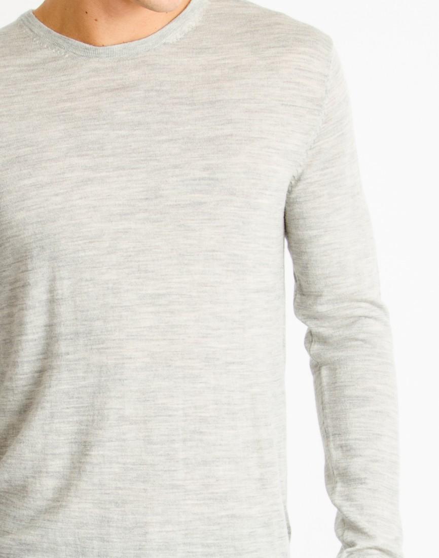 Lyst Selected Tower Merino Jumper Grey In Gray For Men