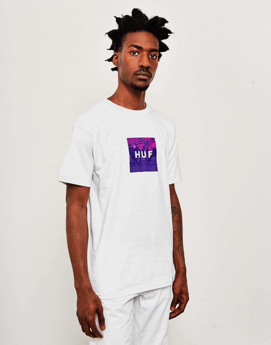 eec58156 Huf Riot Box Logo T-shirt White in White for Men - Lyst