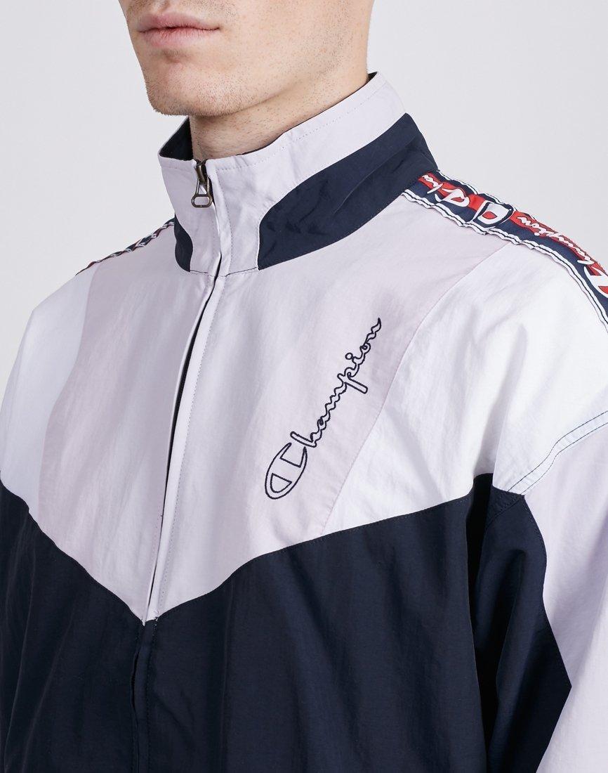 the best attitude 093d8 4c710 Lyst - Champion Full Zip Top Navy   Grey in Gray for Men