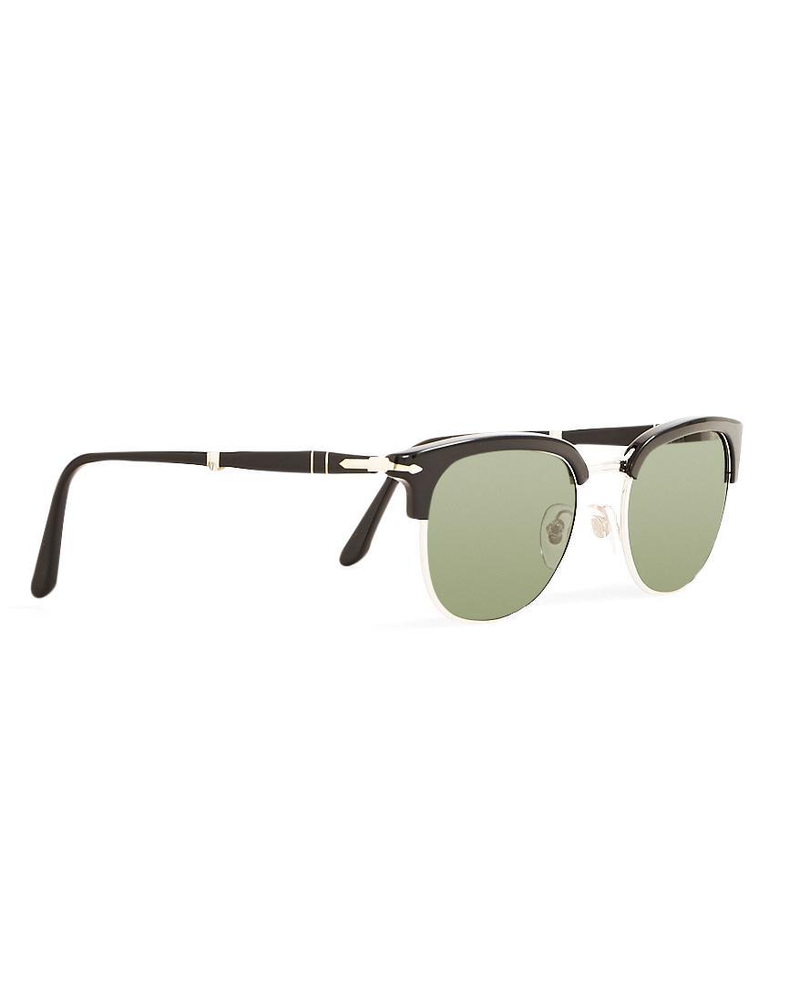 1955adb6e3 Persol Suprema Icon Sunglasses Black in Black for Men - Lyst