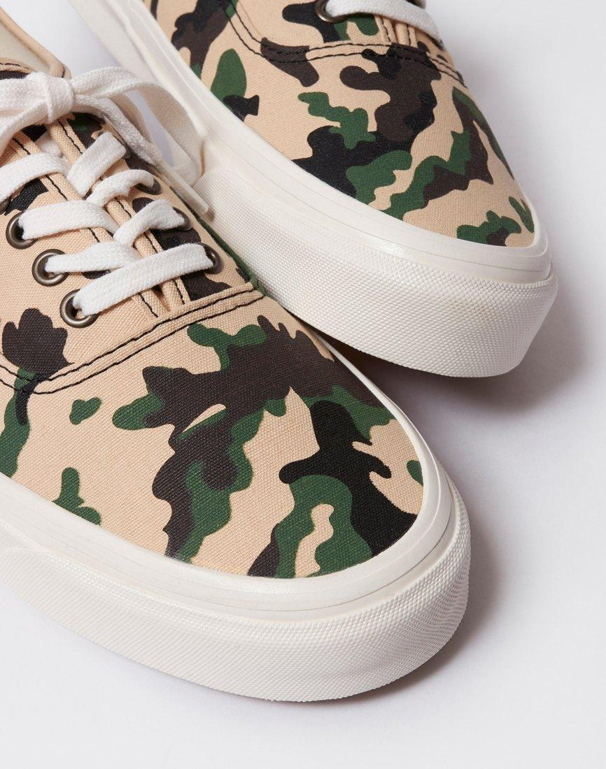 80410bd7c1583 Lyst - Vans Authentic 44 Dx Anaheim Camo Green for Men