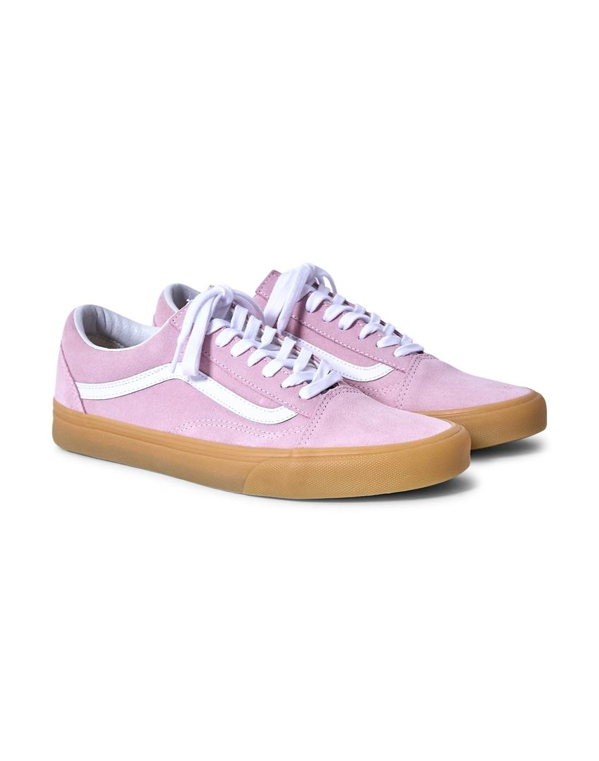 Vans Old Skool Pastel Pink Trainers With Gum Sole wide range of fake cheap price pay with paypal clearance how much zKBcDxO