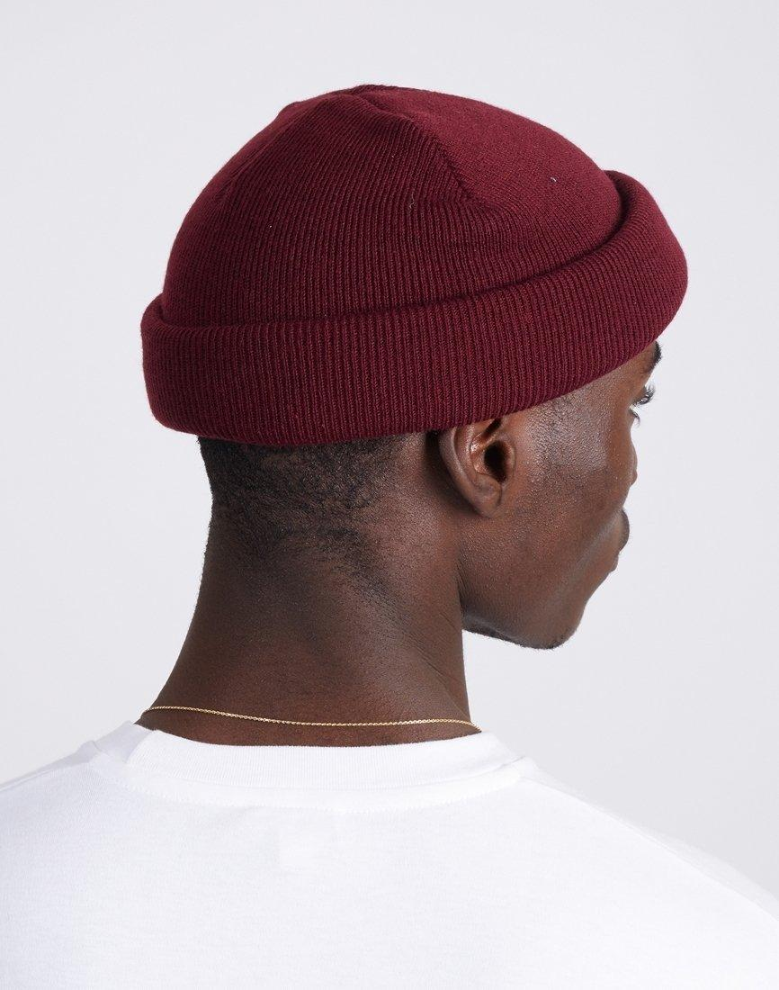 f796651fcb5 Lyst - The Idle Man Original Beanie Burgundy in Red for Men