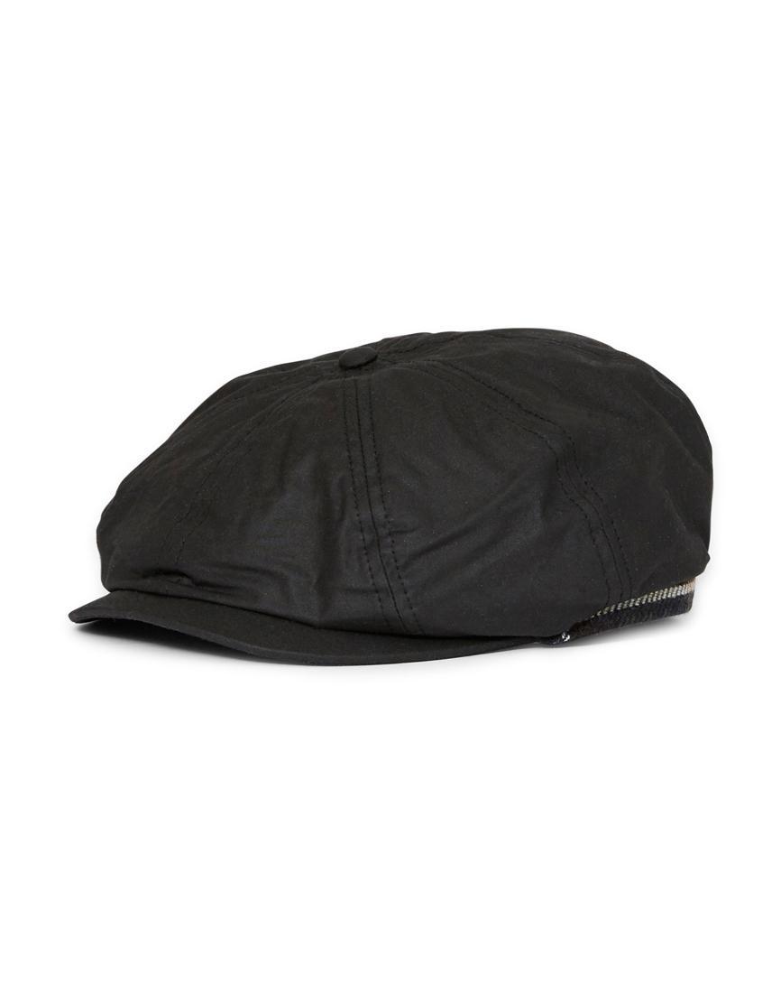 Lyst - Barbour Guillemot Bakerboy Hat Black in Black for Men 5c2d1559630
