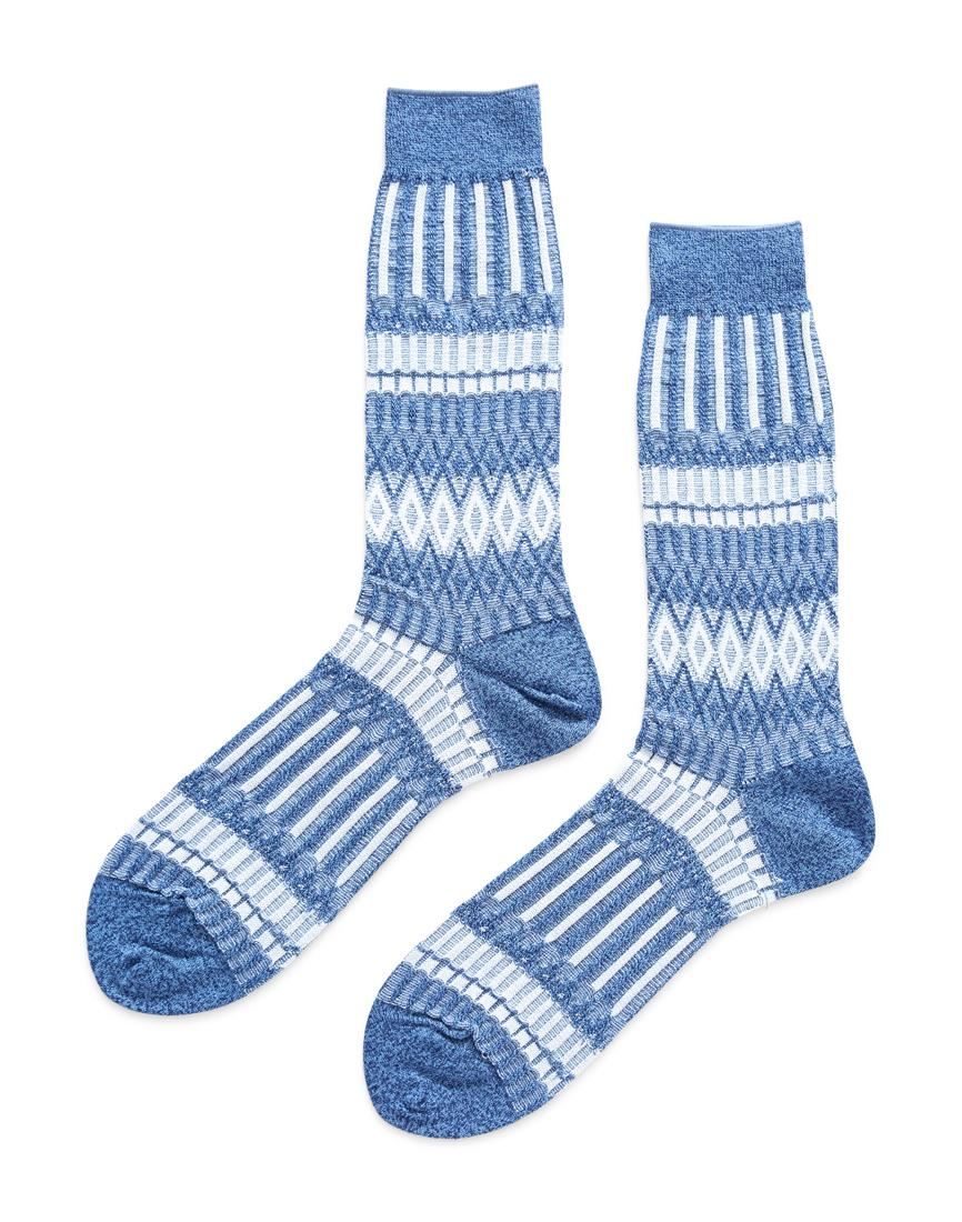 Sale Recommend Explore Cheap Online grey Basket Lunch patterned socks Ayamé Eastbay For Sale Finishline Cheap Price Free Shipping For Sale hhpcM