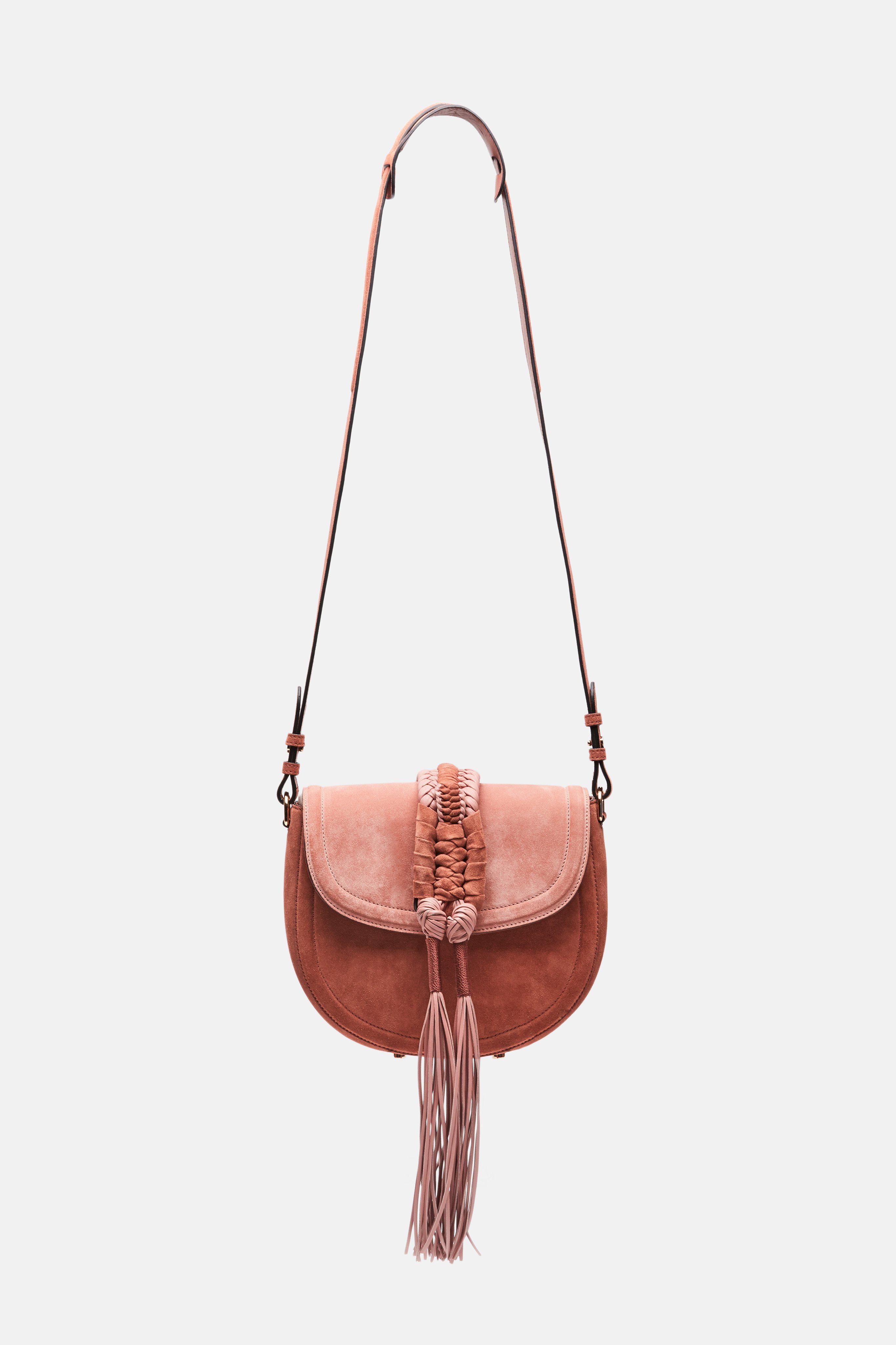 Lyst - Altuzarra Ghianda Knot Saddle Bag Small 9e32b57831ed7