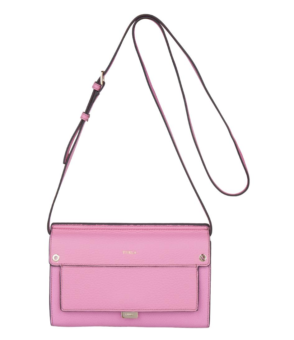 72381032493 Lyst - Furla Like Mini Crossbody in Pink
