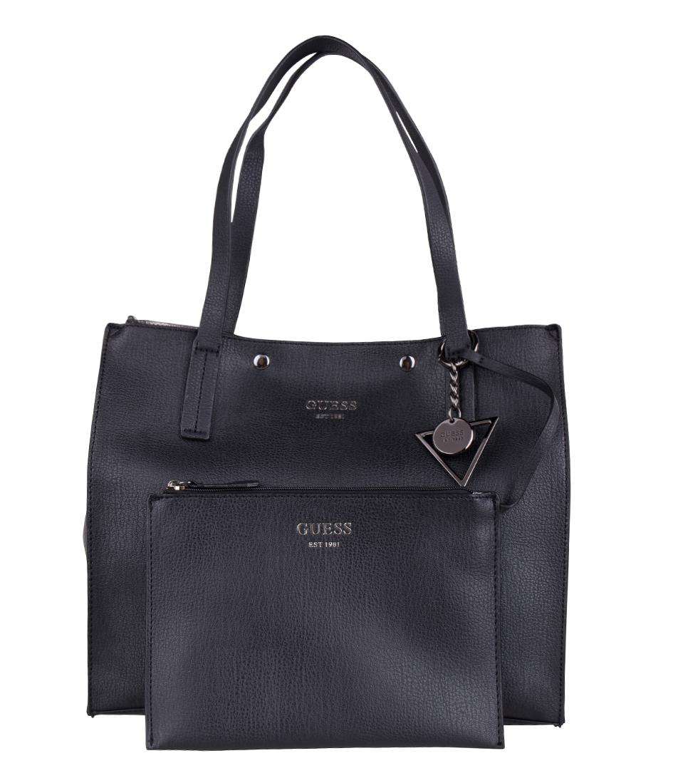 ... outlet store a6df0 c7bdb Lyst - Guess Kinley Carryall in Black ... f1e28169f32