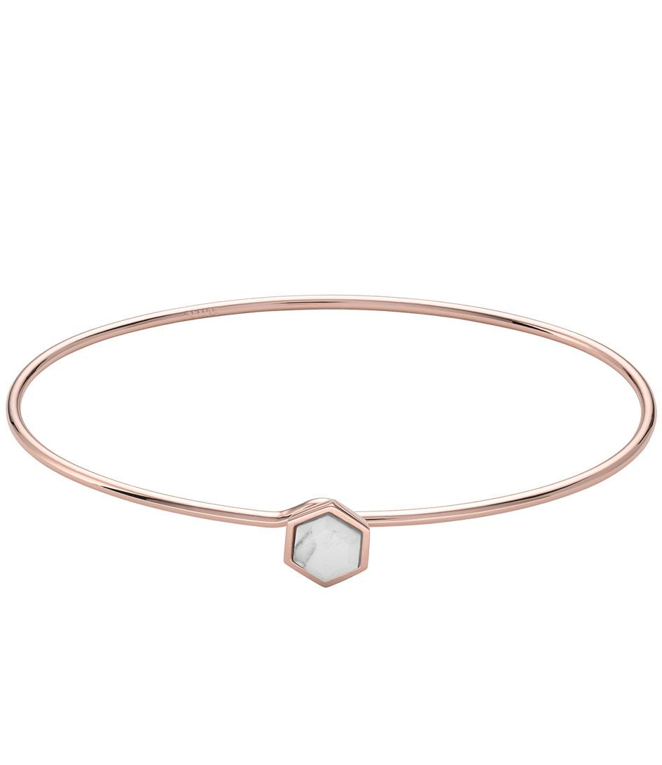 7 For All Mankind Hexagon Bracelet In Gold k8yzM