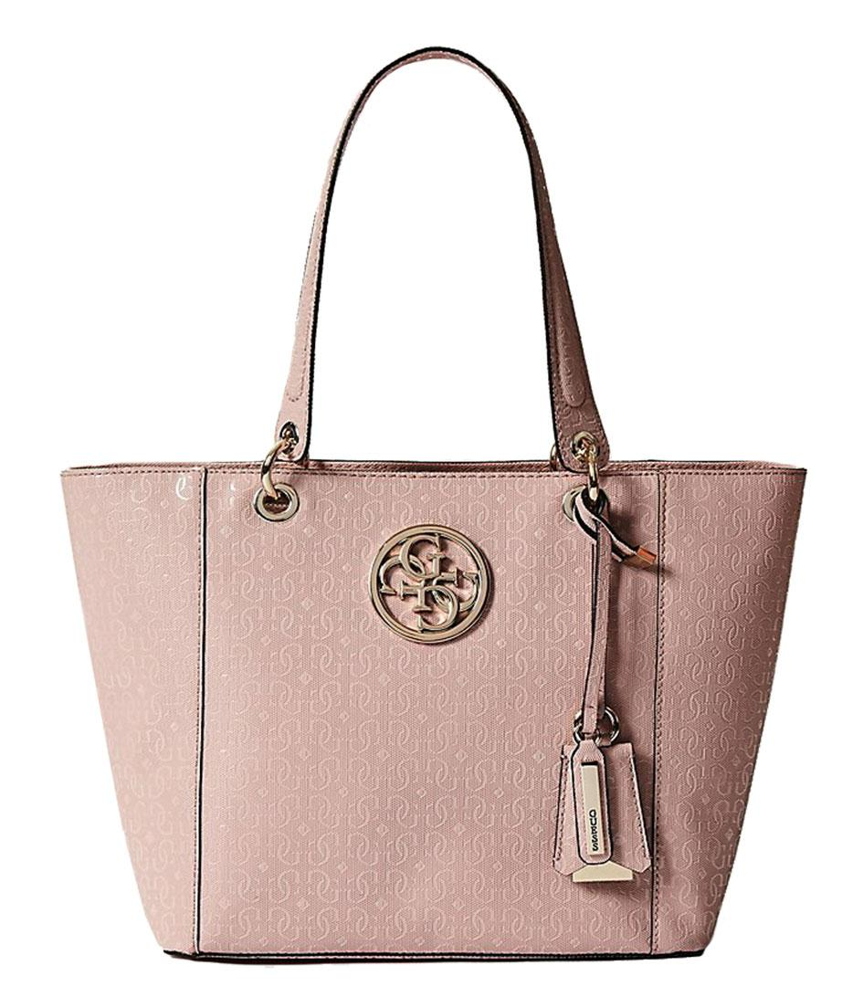 Guess Kamryn Tote in Pink - Lyst b46a319467
