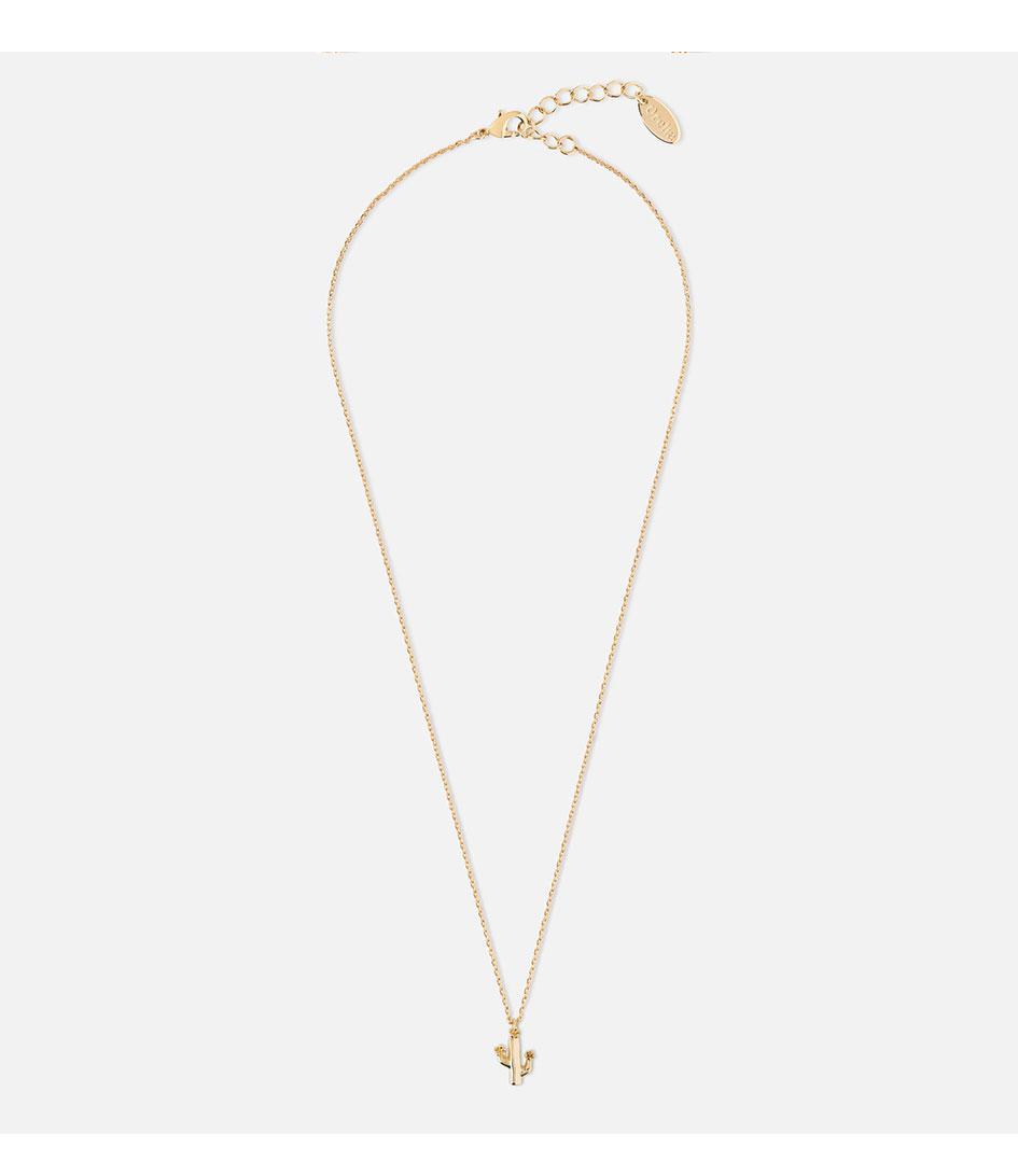 Orelia Ditsy cactus necklace g6YnwkDM4