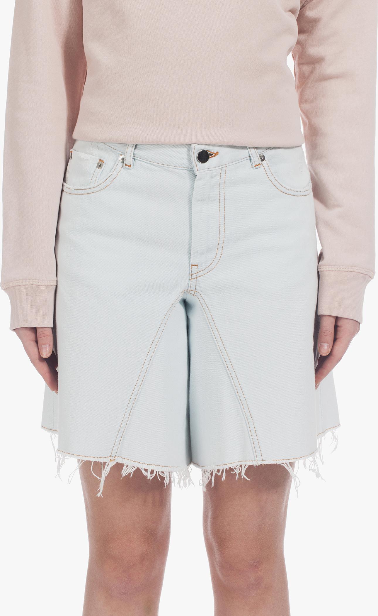 Denim shorts Maison Martin Margiela Sale 100% Original Outlet Authentic Sale 100% Authentic Sale With Paypal Countdown Package For Sale 0yzy4Z