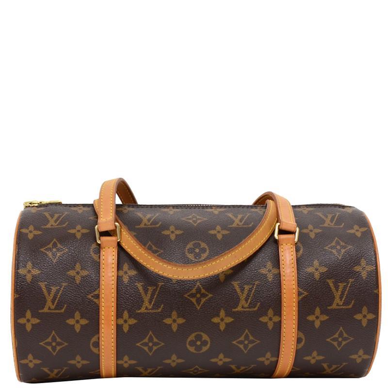 Louis Vuitton Monogram Canvas Papillon 30 Bag in Brown - Lyst 21921c2273929