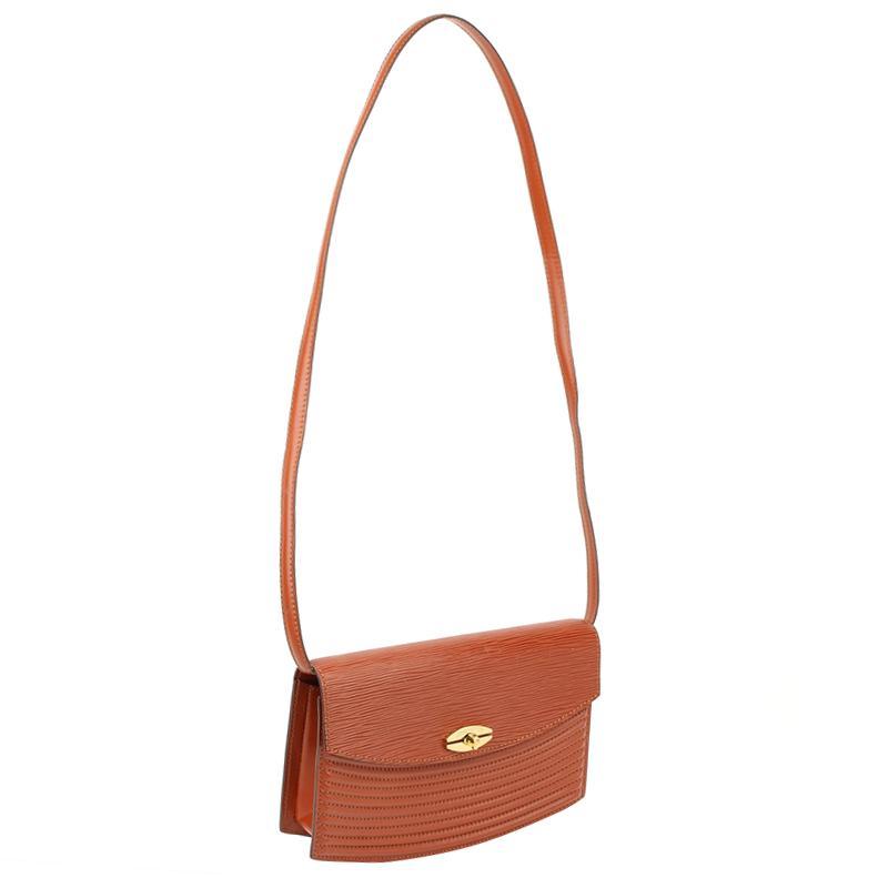 226fdfacfc31 Louis Vuitton Kenyan Fawn Epi Leather Tilsitt Bag in Brown - Lyst