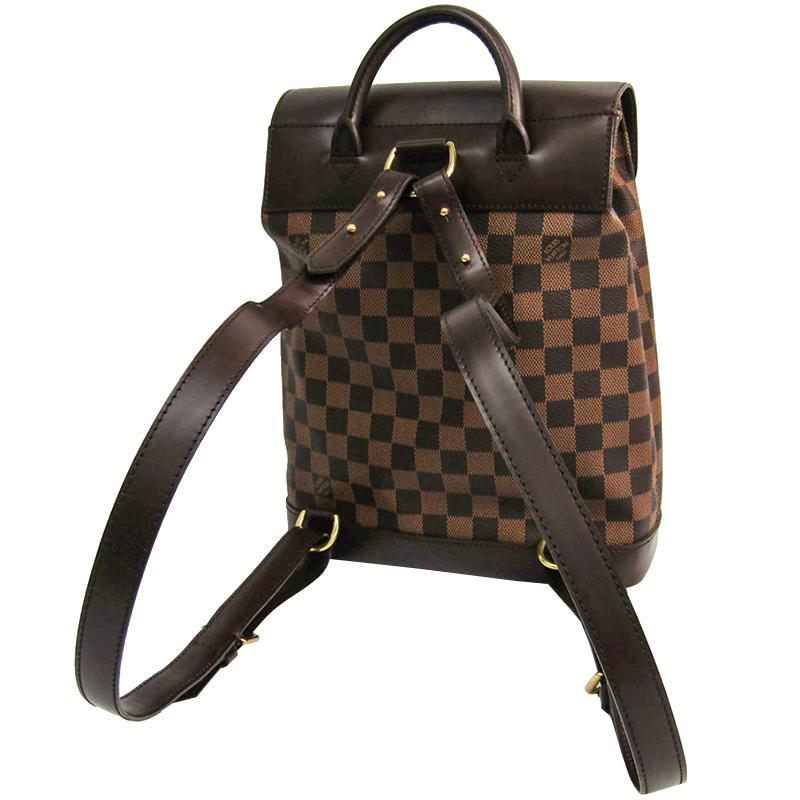 1ff149c76679 Louis Vuitton - Brown Damier Ebene Canvas Soho Backpack - Lyst. View  fullscreen