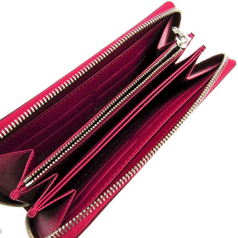 Louis Vuitton - Red Fuchsia Epi Leather Zippy Wallet - Lyst. View fullscreen 655635ea7a4