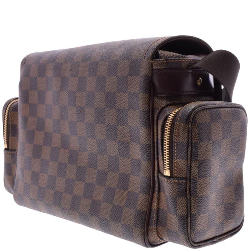f41501a6e ... Damier Ebene Canvas Melville Reporter Bag for Men - Lyst. View  fullscreen
