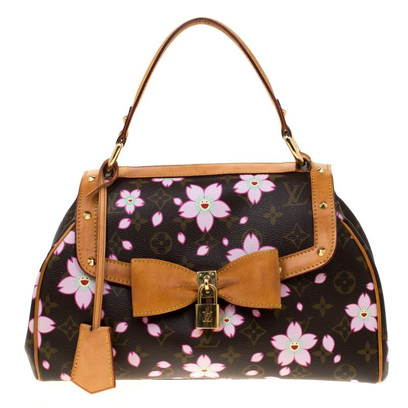 620d7ce880b1 Lyst - Louis Vuitton Monogram Canvas Limited Edition Cherry Blossom ...