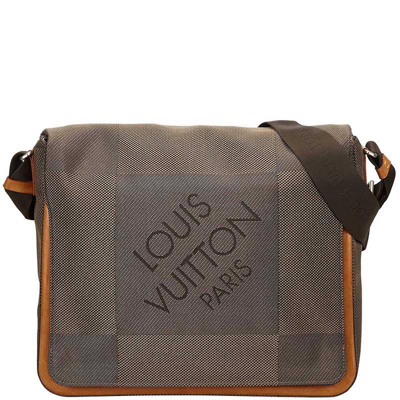 659c76c6e2c2 Louis Vuitton Terre Damier Geant Canvas Messenger Bag in Brown for ...