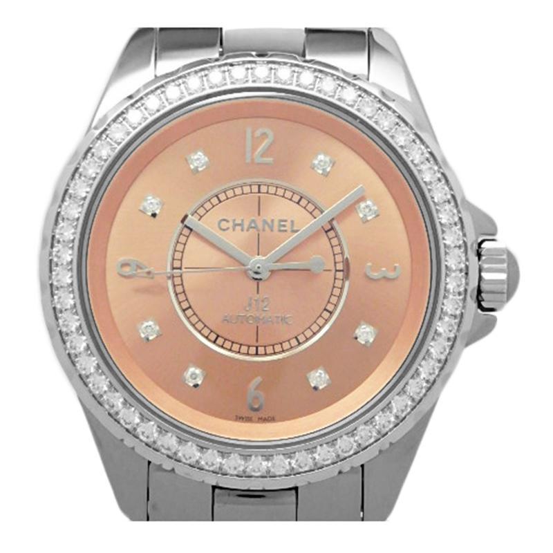 c492e8e8433 Lyst - Chanel Ceramic And Titanium Diamond J12 Men s Wristwatch 38mm ...