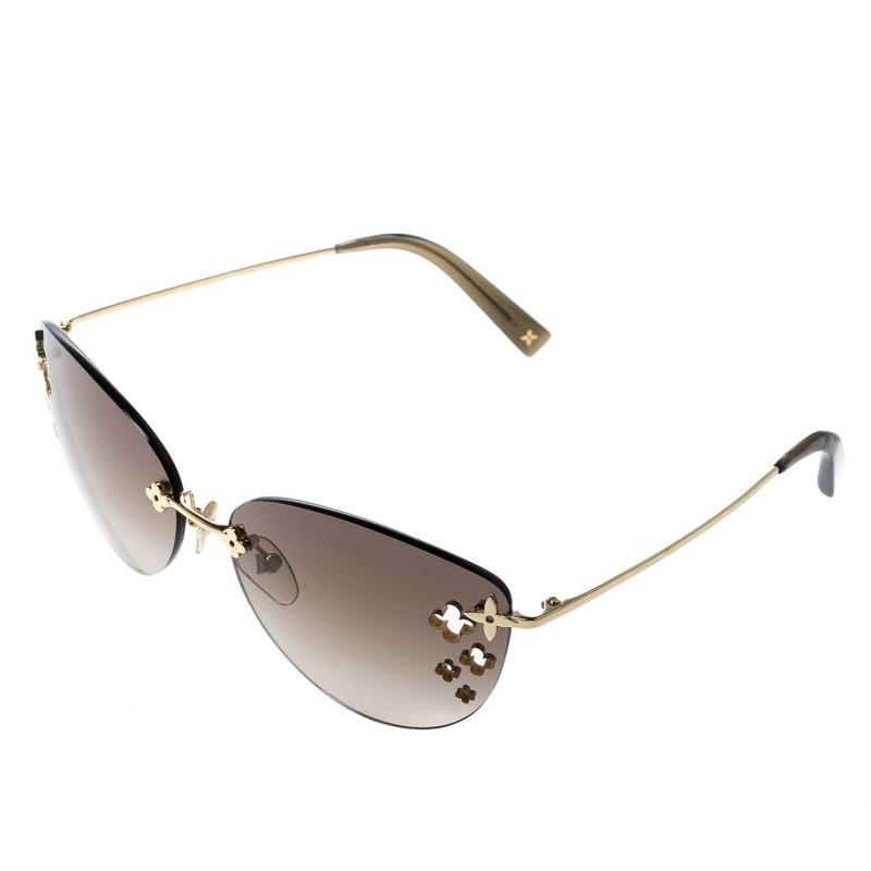 81a8278c85 Louis Vuitton Gradient Z0051u Desmayo Rimless Cat Eye Women ...