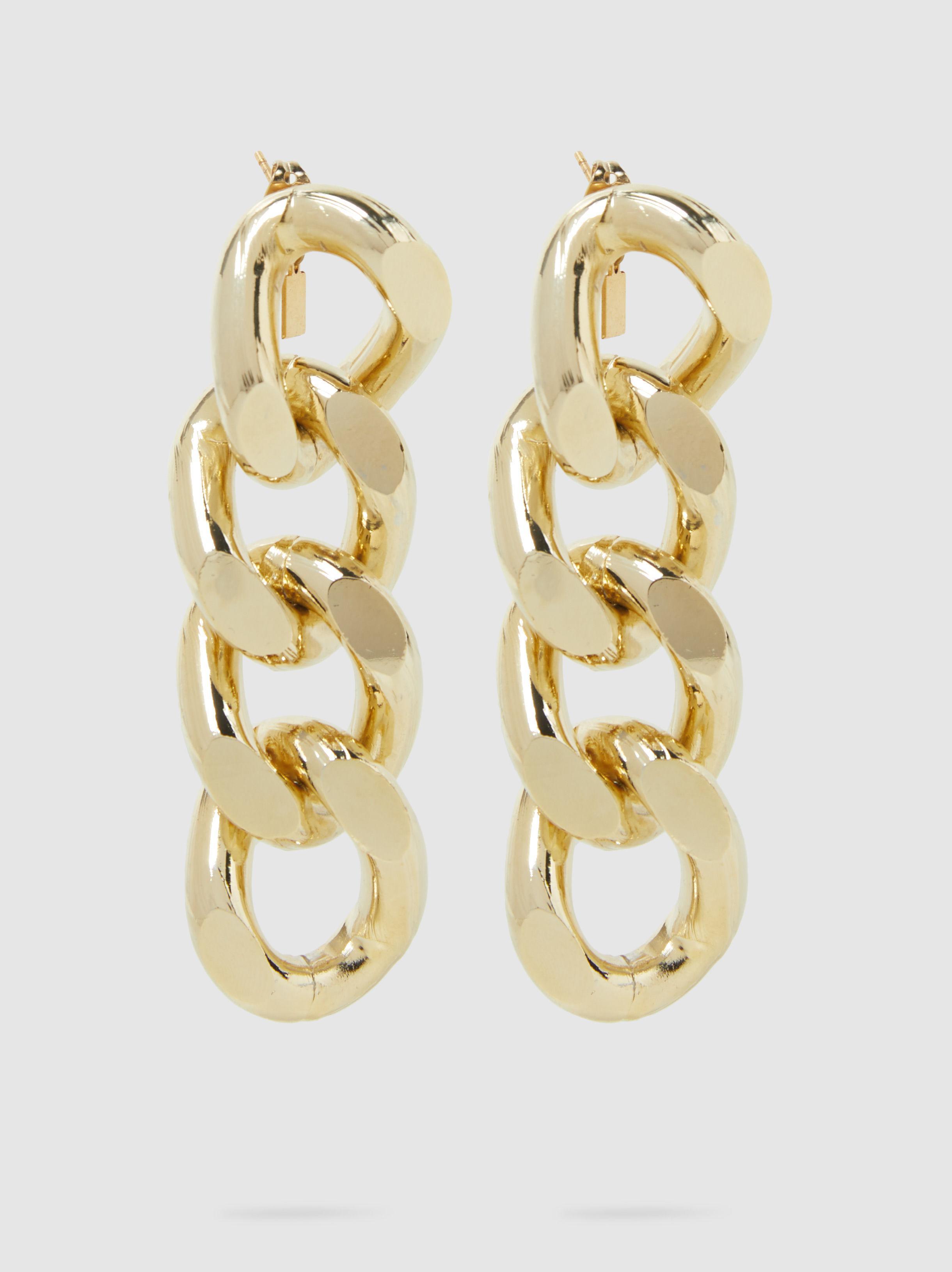 Rosantica Fortuna Gold-Tone Earrings OhA2NDEvzP