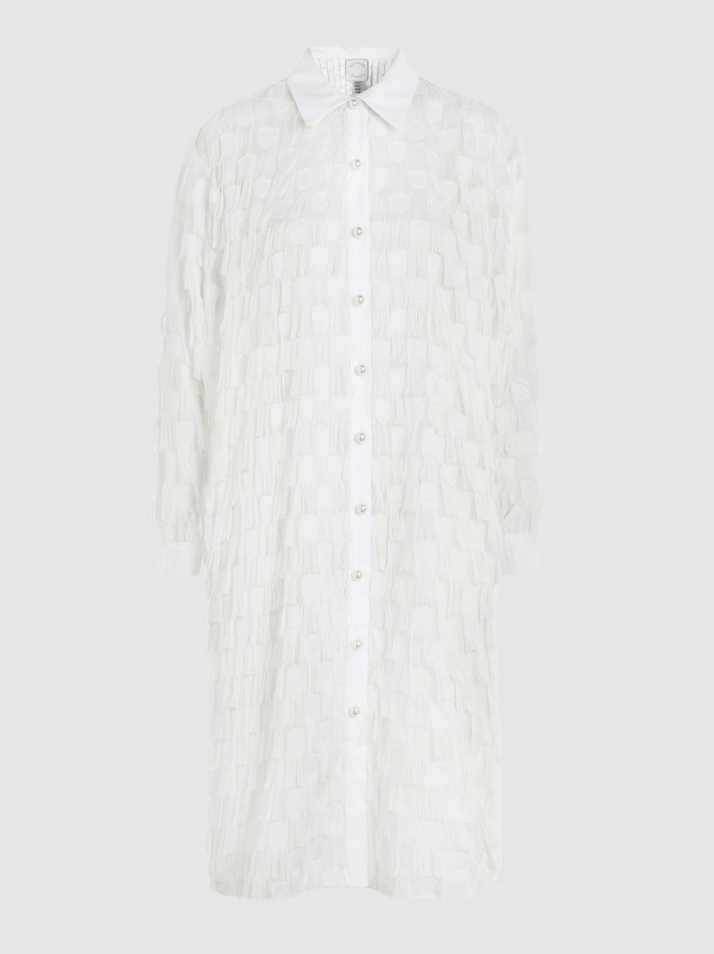 Elaine Fil Coupé Lace Shirt Dress Huishan Zhang Cheap Recommend Cheap Footaction sQIWFWsbl