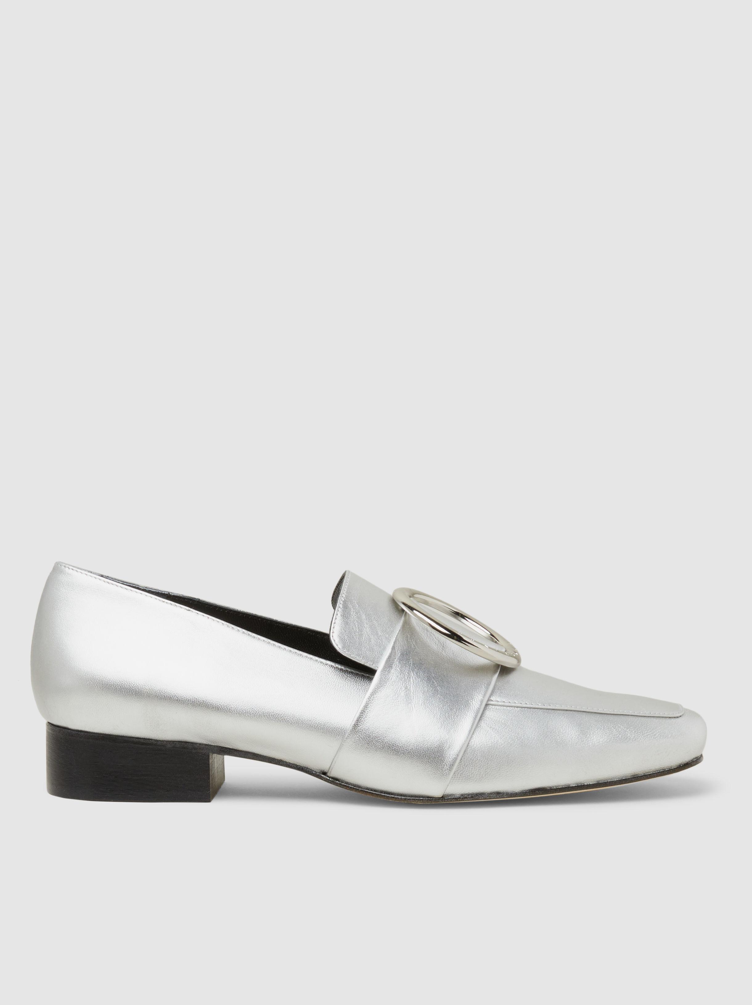 Harput embellished loafers - Metallic DORATEYMUR D0fBy6JEeo