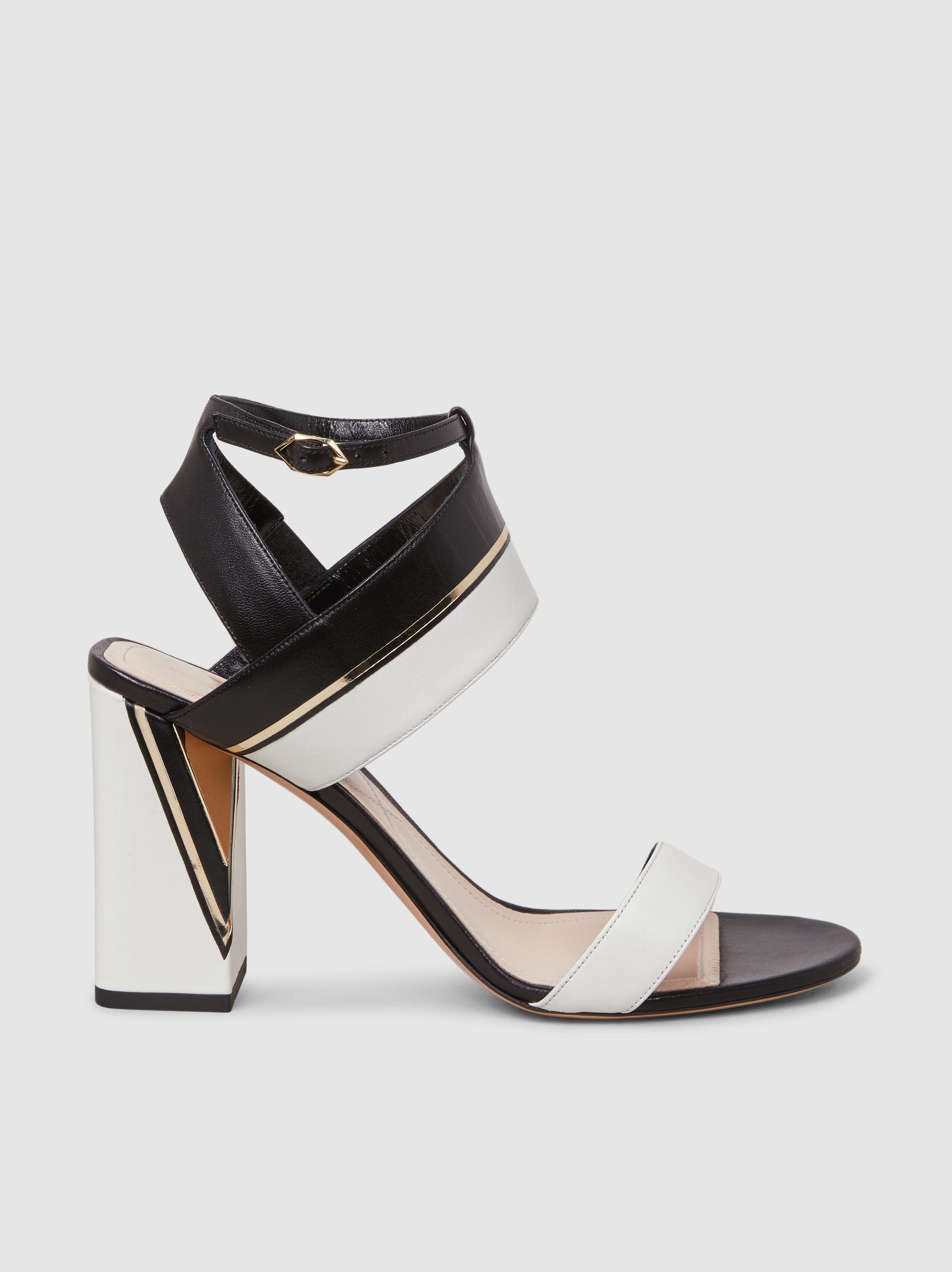 Nicholas Kirkwood Woman Leather-trimmed Python Platform Sandals Off-white Size 40 Nicholas Kirkwood QiUcdB