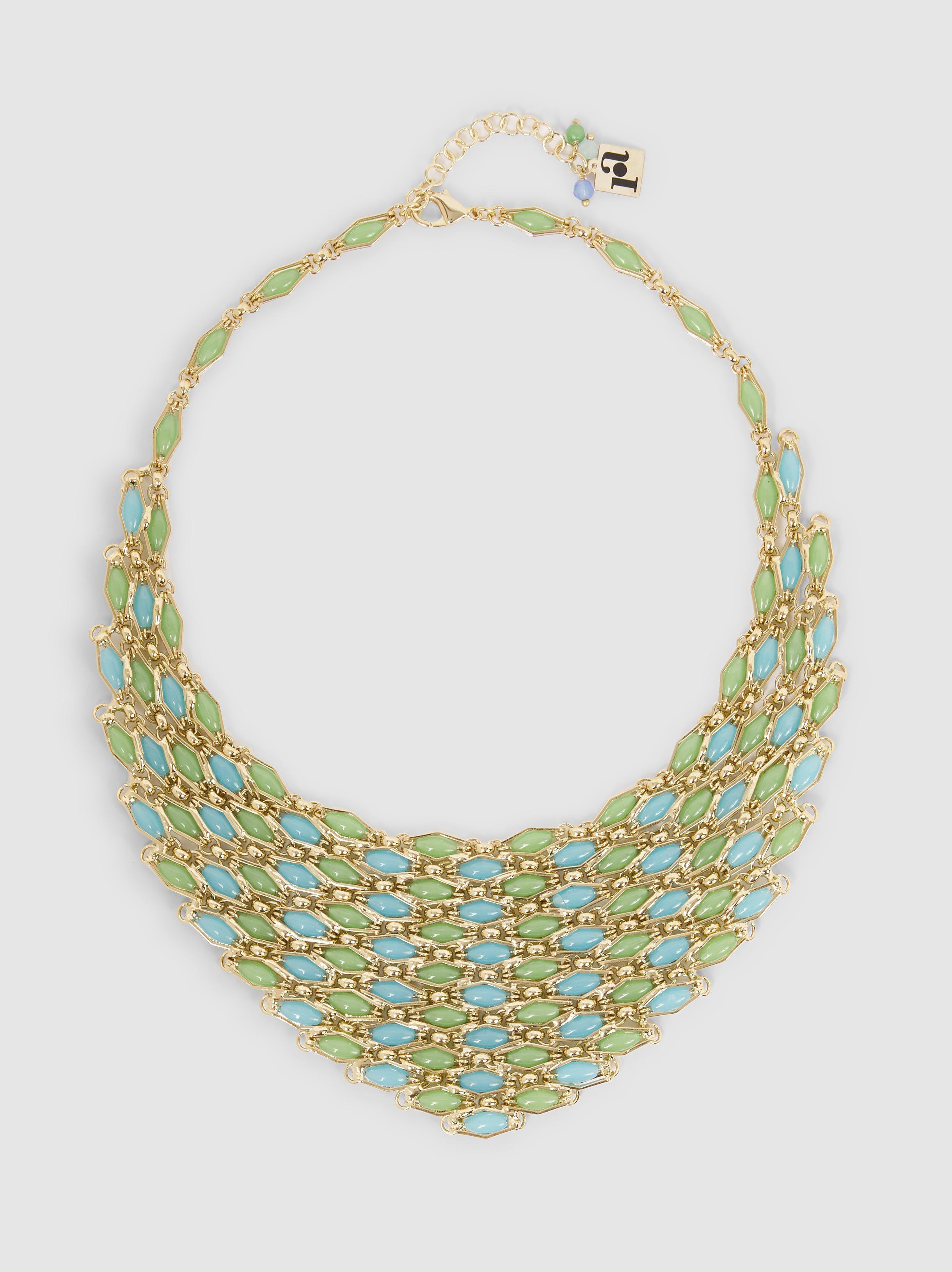 Destino Gold-Tone Quartz Necklace Rosantica 3iICrMh