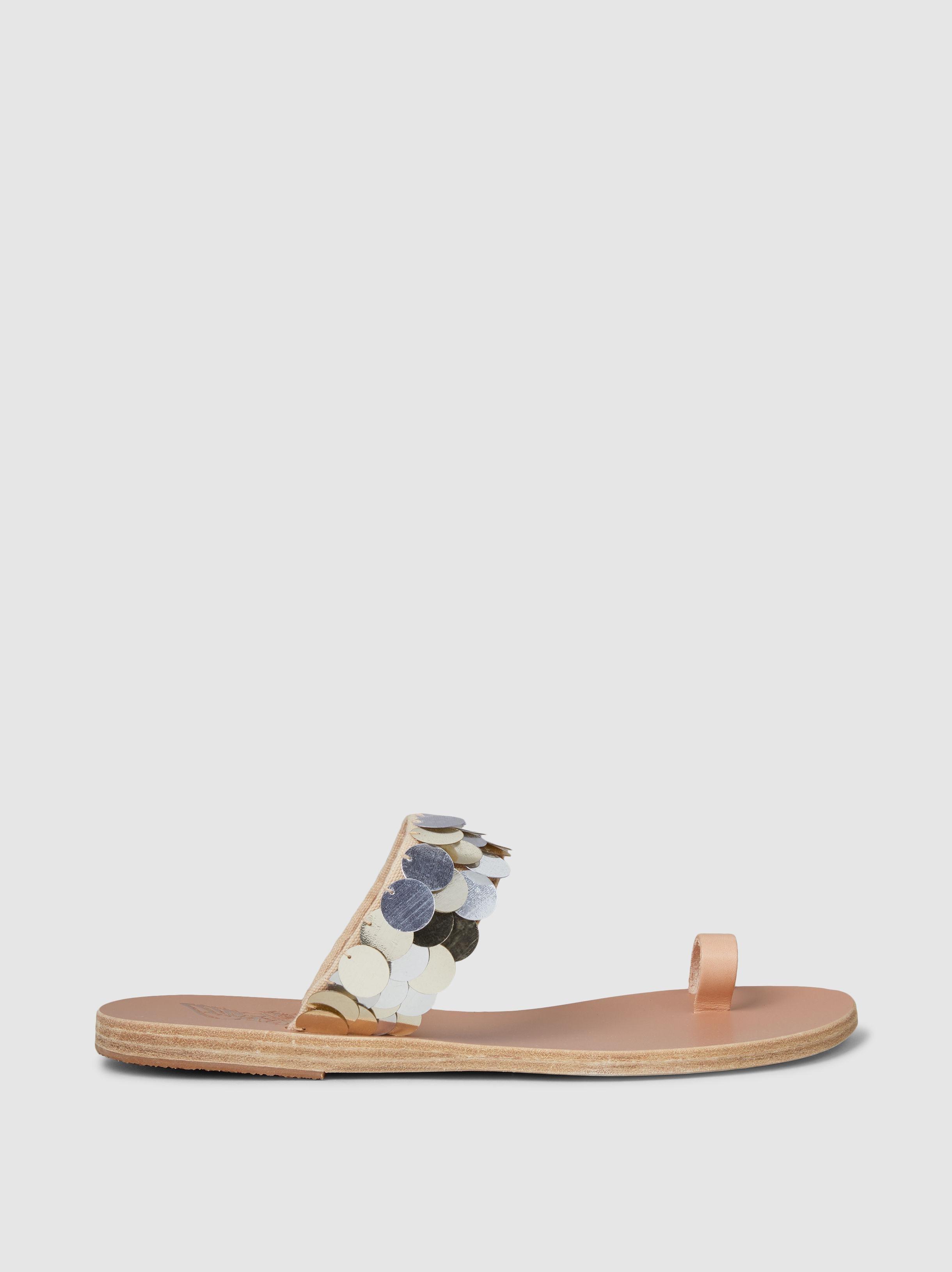189c9fccabbba Ancient Greek Sandals Thraki Paillette-embellished Sandals - Lyst