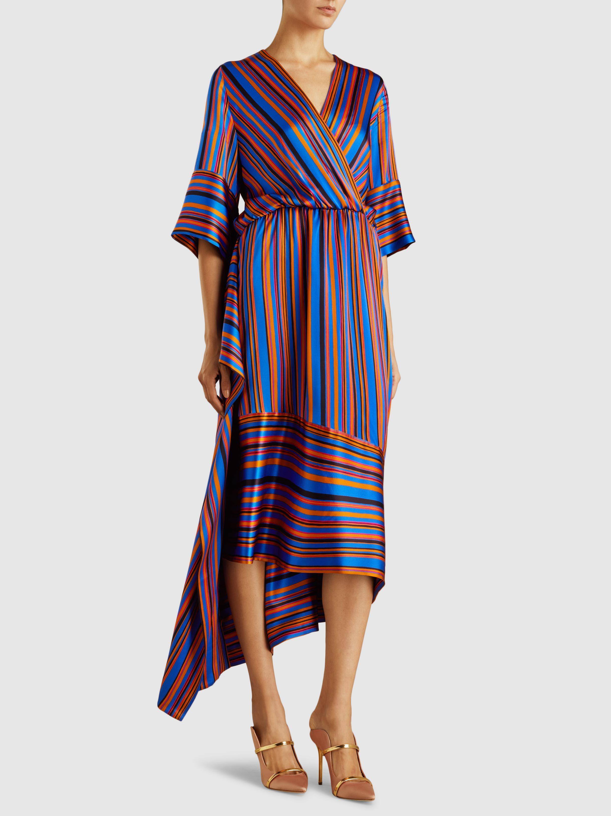 Danu striped dress - Blue Petar Petrov Gw3mfh